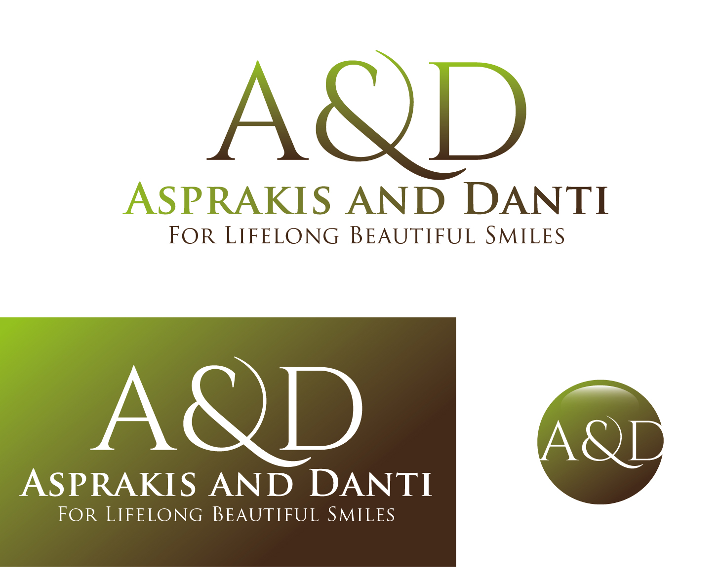 Logo Design by VENTSISLAV KOVACHEV - Entry No. 92 in the Logo Design Contest Unique Logo Design Wanted for Asprakis and Danti.
