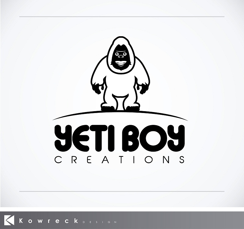 Logo Design by kowreck - Entry No. 38 in the Logo Design Contest Captivating Logo Design for Yeti Boy Creations.