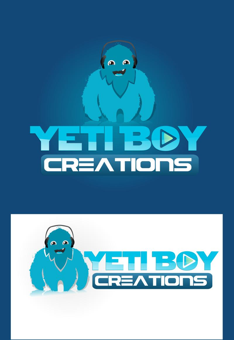 Logo Design by Private User - Entry No. 44 in the Logo Design Contest Captivating Logo Design for Yeti Boy Creations.