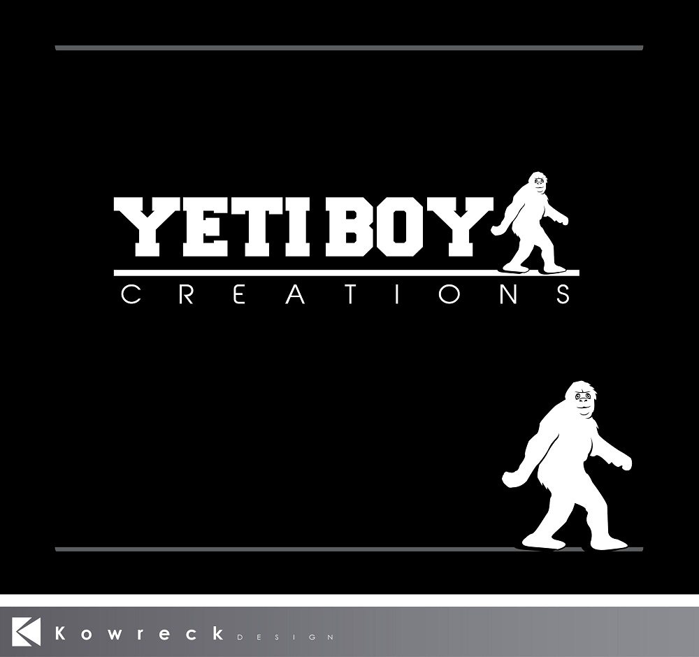 Logo Design by kowreck - Entry No. 48 in the Logo Design Contest Captivating Logo Design for Yeti Boy Creations.