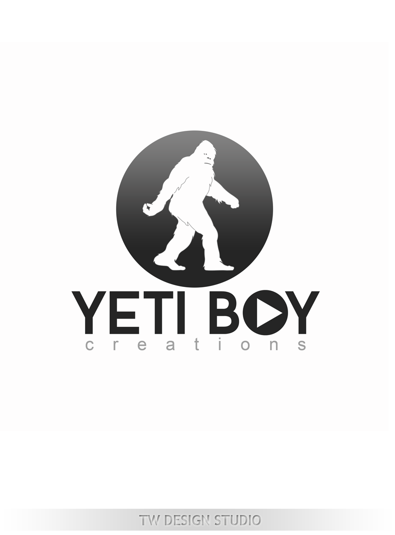 Logo Design by Private User - Entry No. 52 in the Logo Design Contest Captivating Logo Design for Yeti Boy Creations.