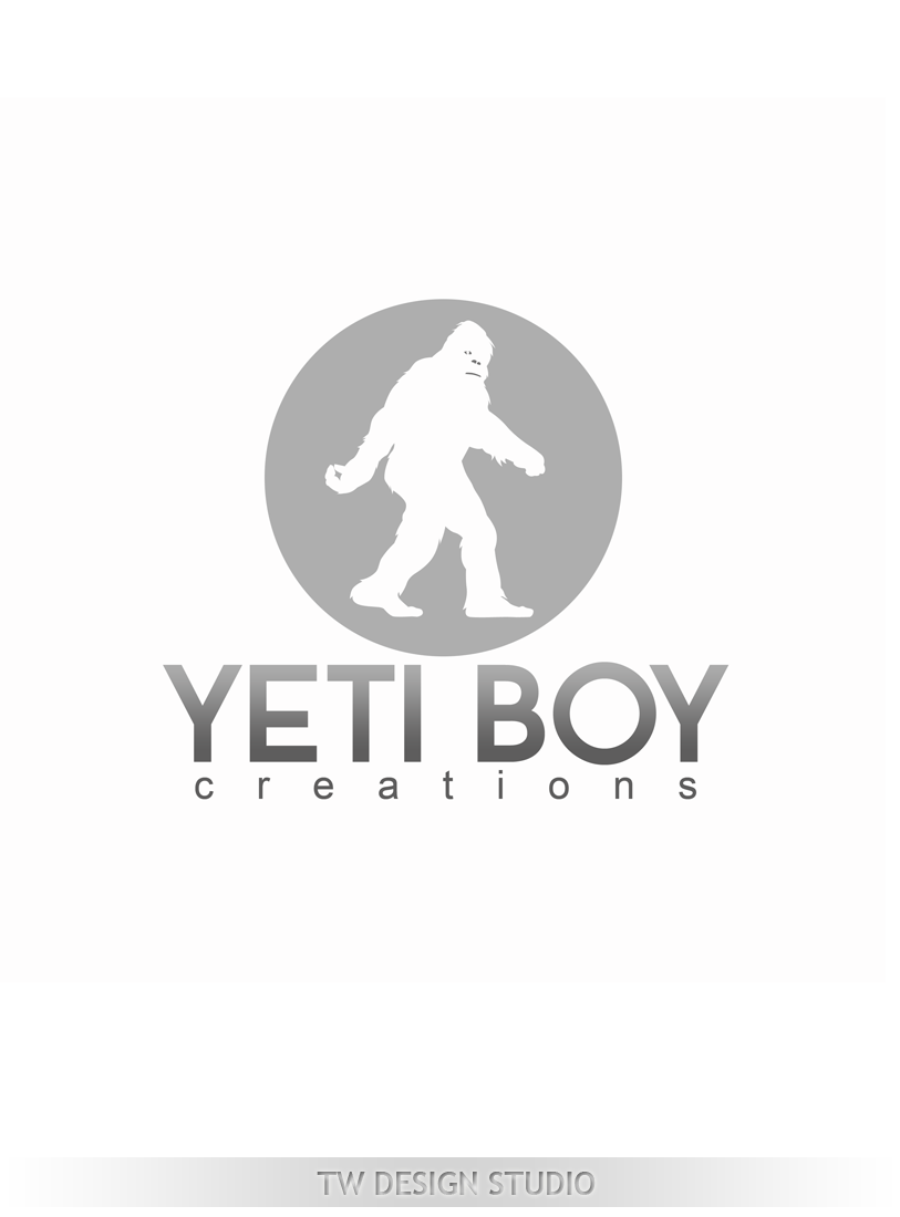 Logo Design by Private User - Entry No. 54 in the Logo Design Contest Captivating Logo Design for Yeti Boy Creations.