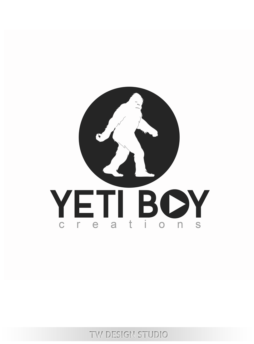 Logo Design by Robert Turla - Entry No. 55 in the Logo Design Contest Captivating Logo Design for Yeti Boy Creations.