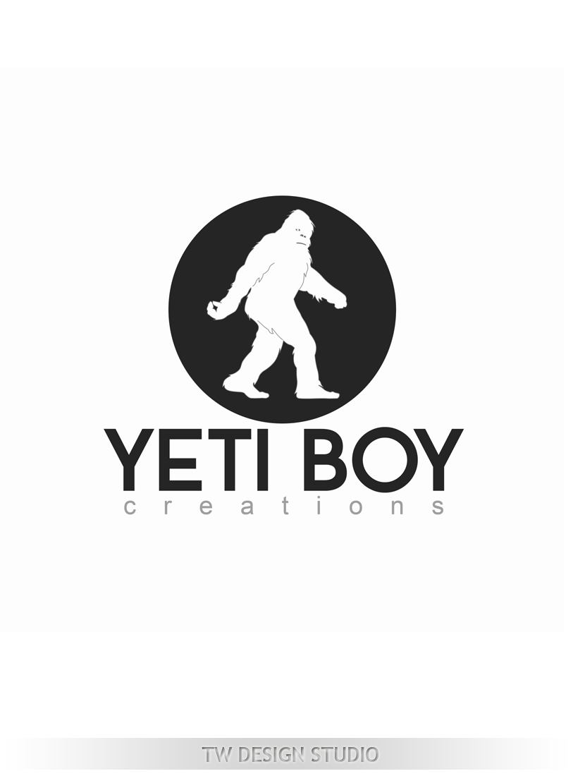Logo Design by Private User - Entry No. 56 in the Logo Design Contest Captivating Logo Design for Yeti Boy Creations.