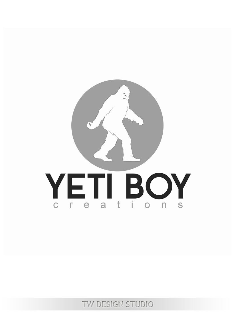Logo Design by Robert Turla - Entry No. 57 in the Logo Design Contest Captivating Logo Design for Yeti Boy Creations.