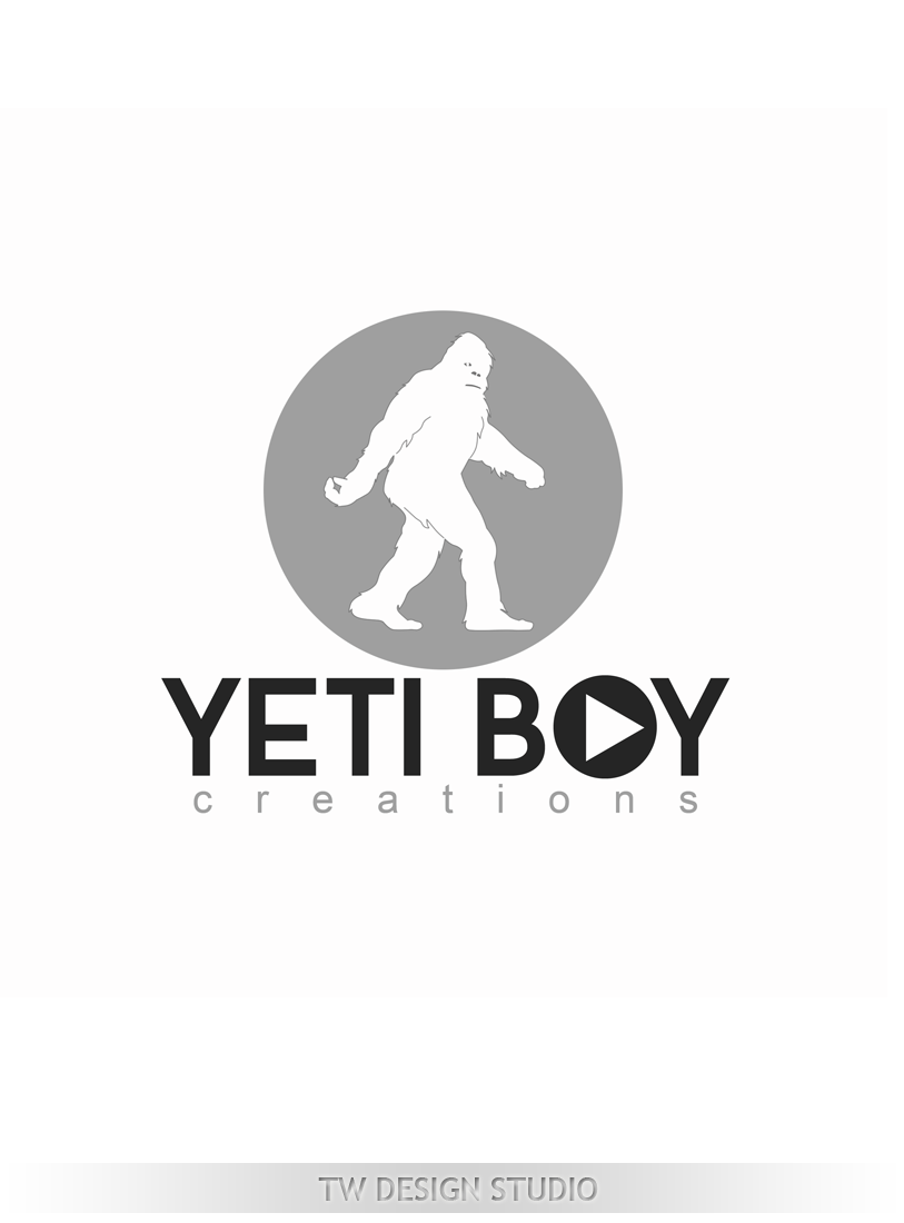 Logo Design by Private User - Entry No. 58 in the Logo Design Contest Captivating Logo Design for Yeti Boy Creations.