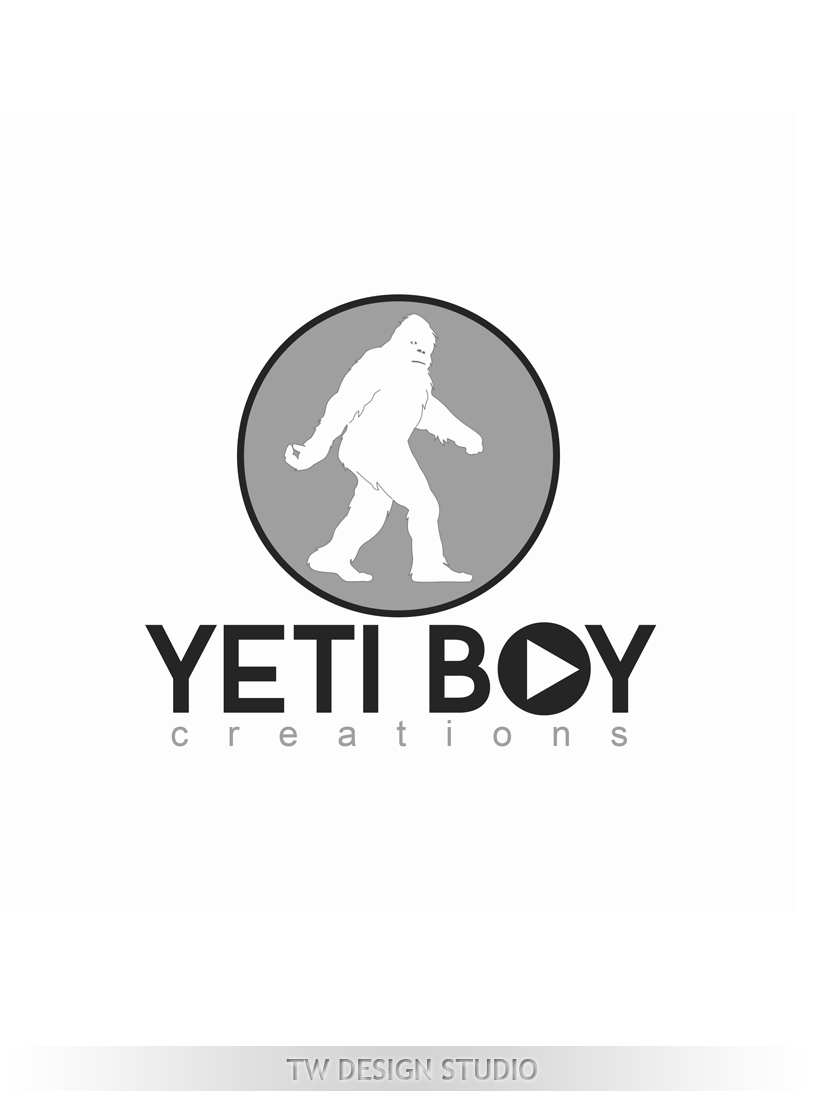 Logo Design by Robert Turla - Entry No. 59 in the Logo Design Contest Captivating Logo Design for Yeti Boy Creations.