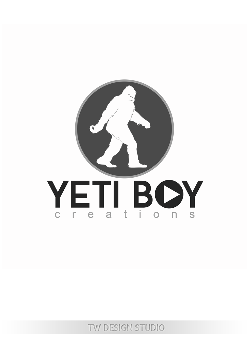Logo Design by Private User - Entry No. 60 in the Logo Design Contest Captivating Logo Design for Yeti Boy Creations.