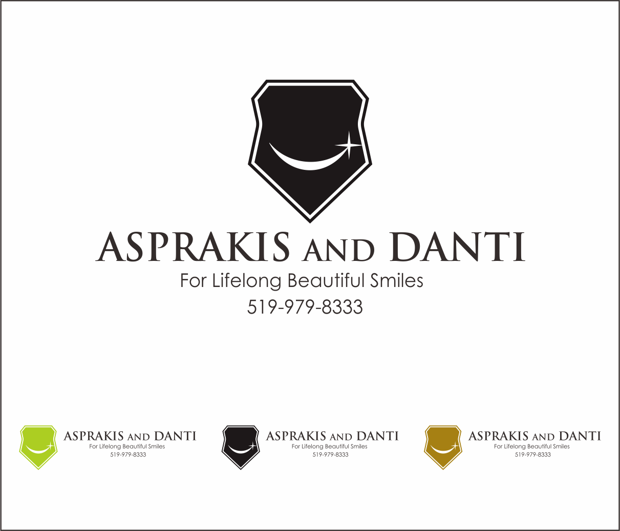Logo Design by Armada Jamaluddin - Entry No. 110 in the Logo Design Contest Unique Logo Design Wanted for Asprakis and Danti.