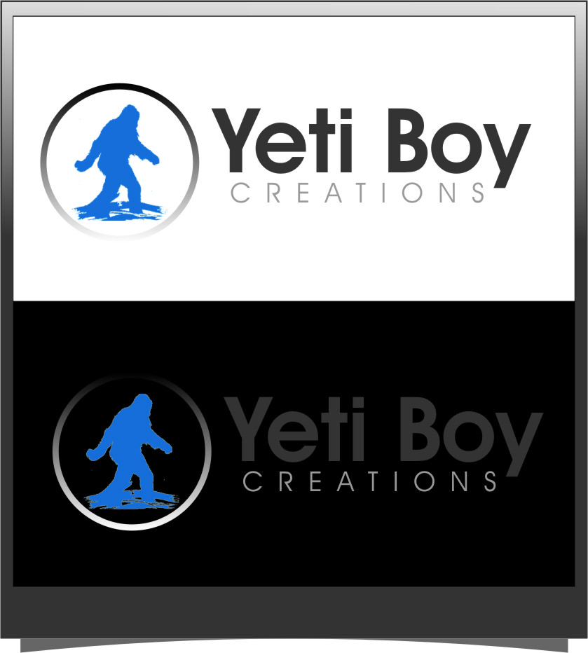 Logo Design by RasYa Muhammad Athaya - Entry No. 70 in the Logo Design Contest Captivating Logo Design for Yeti Boy Creations.