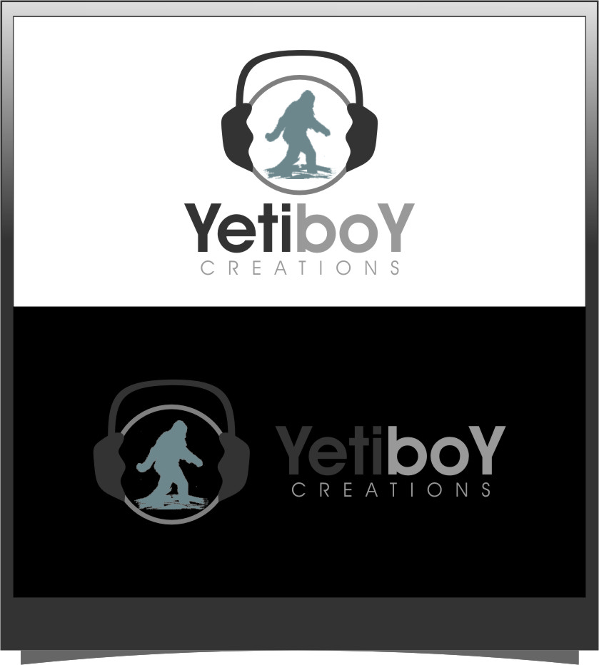 Logo Design by RoSyid Rono-Rene On Java - Entry No. 71 in the Logo Design Contest Captivating Logo Design for Yeti Boy Creations.