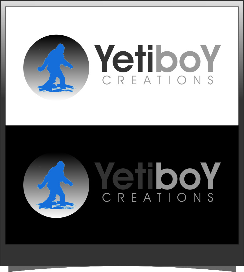Logo Design by RasYa Muhammad Athaya - Entry No. 73 in the Logo Design Contest Captivating Logo Design for Yeti Boy Creations.