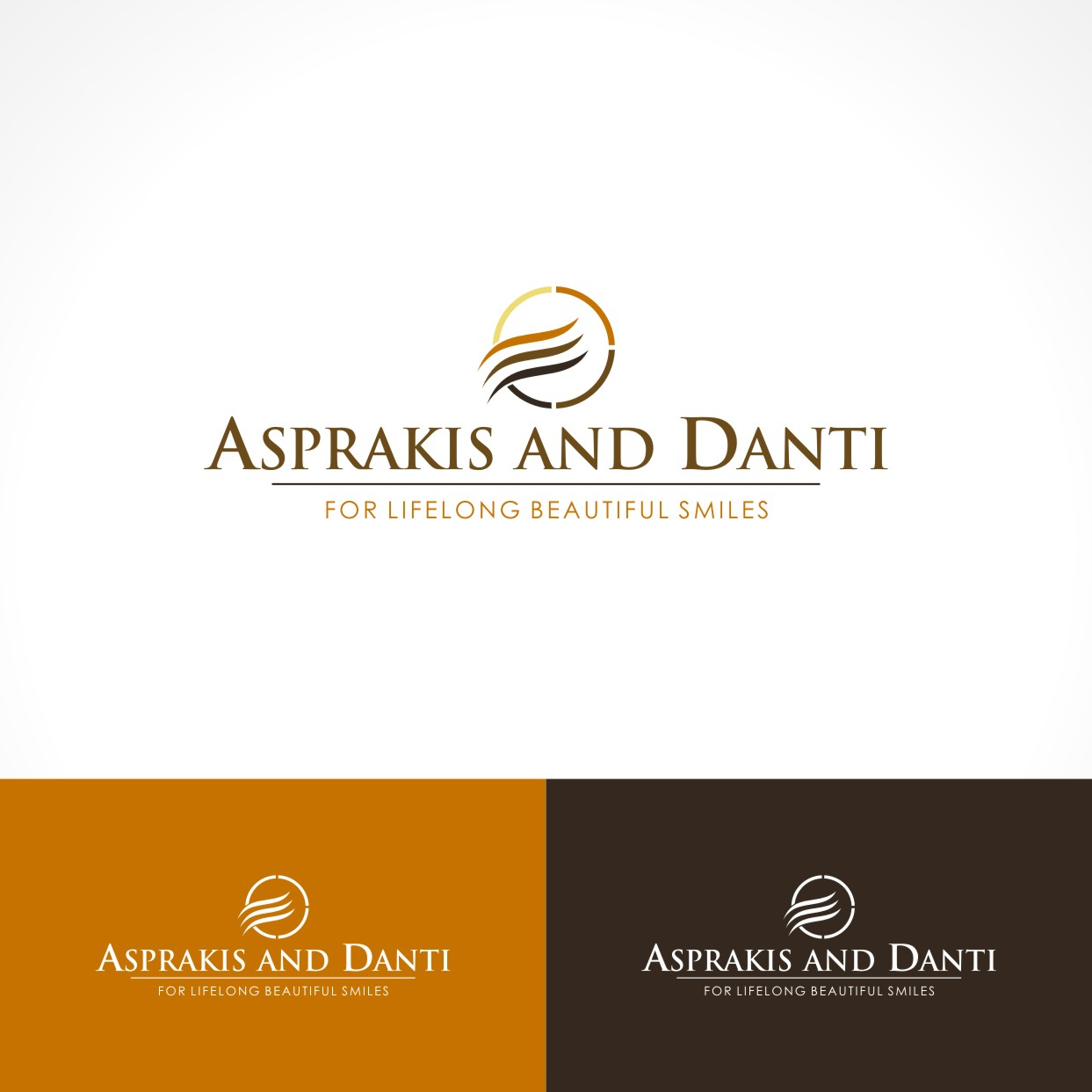 Logo Design by Private User - Entry No. 121 in the Logo Design Contest Unique Logo Design Wanted for Asprakis and Danti.