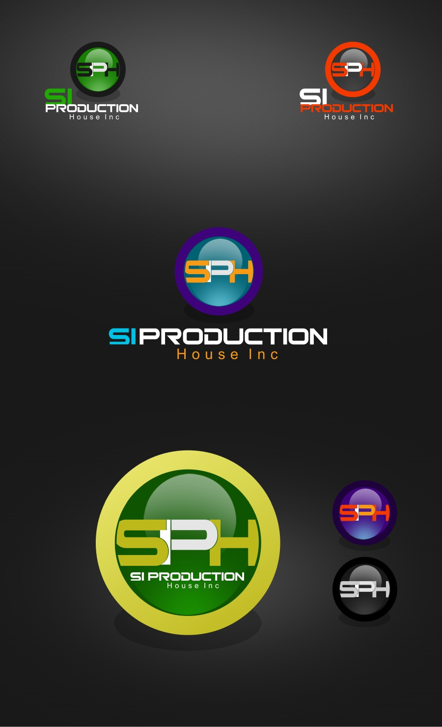 Logo Design by Private User - Entry No. 98 in the Logo Design Contest Si Production House Inc Logo Design.