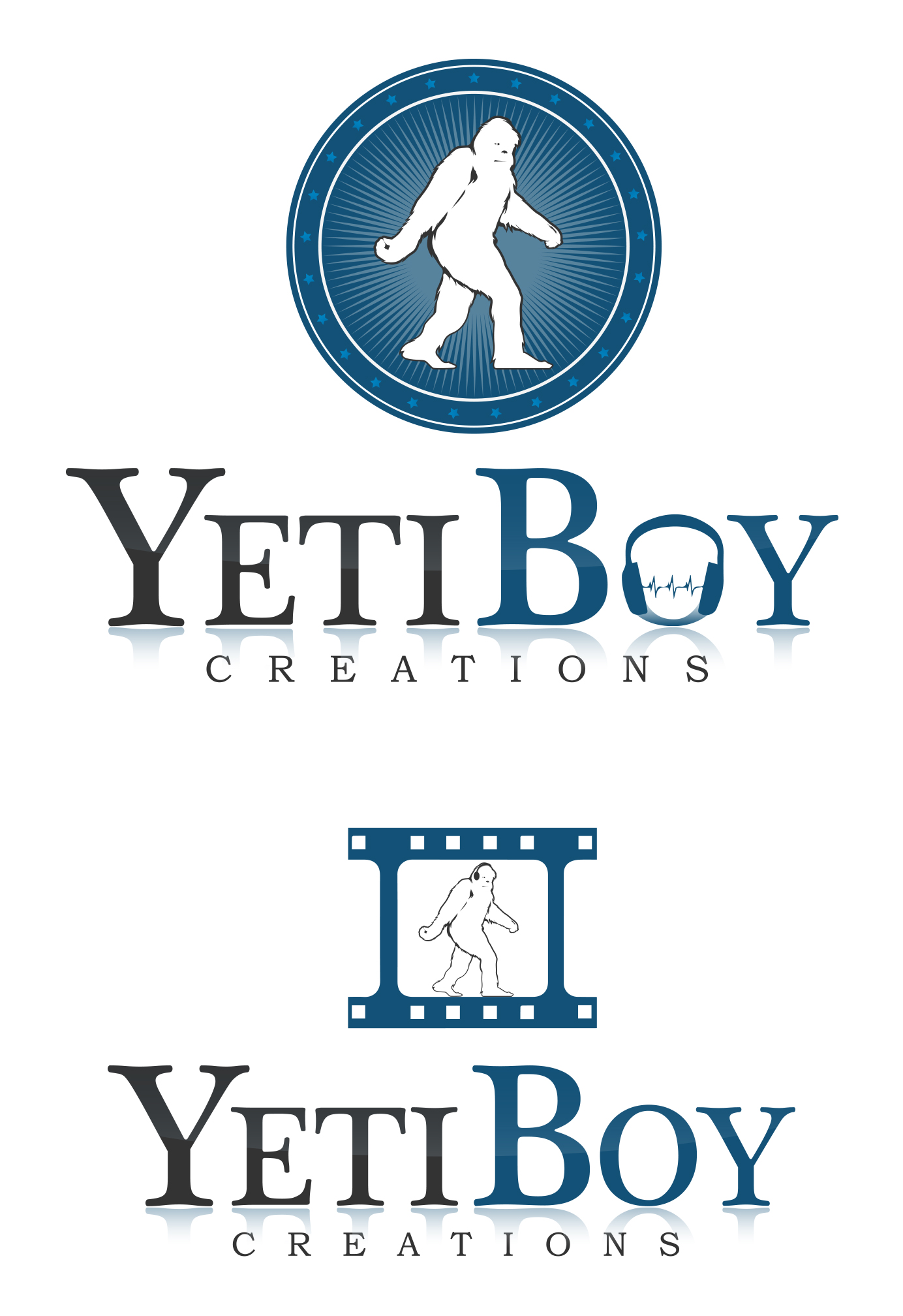 Logo Design by olii - Entry No. 76 in the Logo Design Contest Captivating Logo Design for Yeti Boy Creations.