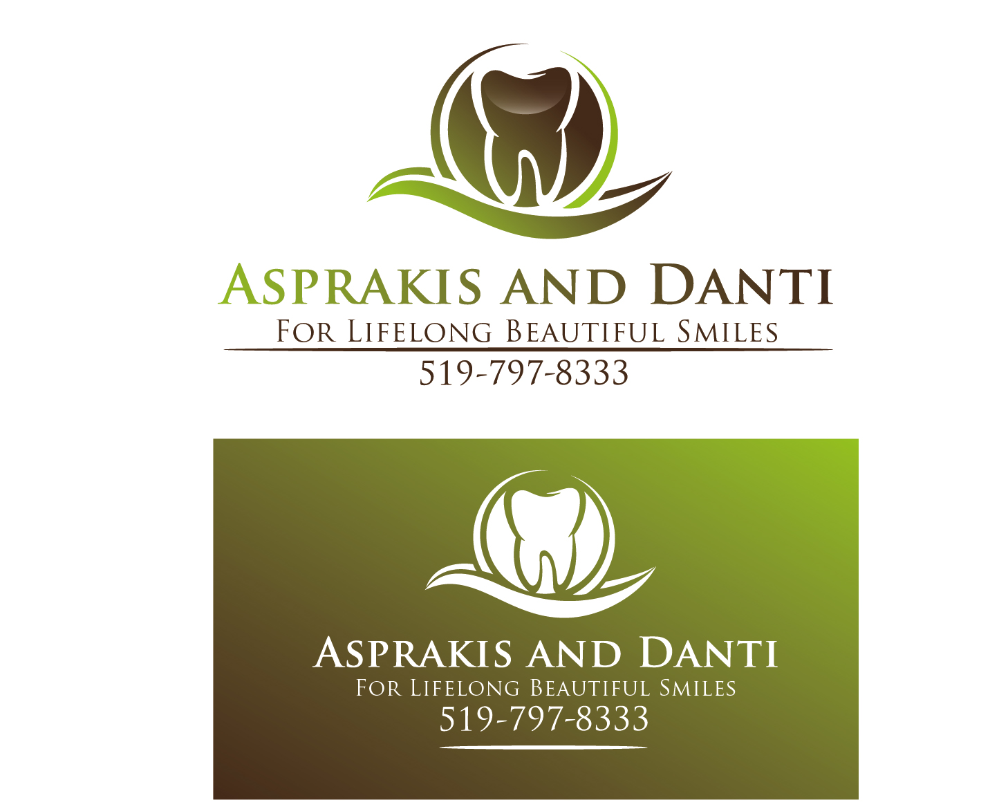 Logo Design by VENTSISLAV KOVACHEV - Entry No. 138 in the Logo Design Contest Unique Logo Design Wanted for Asprakis and Danti.