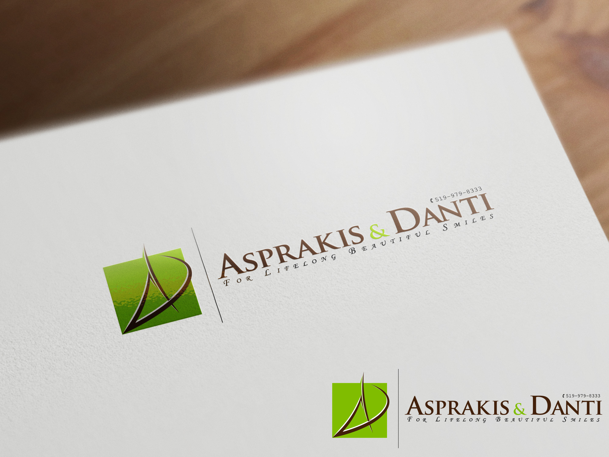 Logo Design by olii - Entry No. 144 in the Logo Design Contest Unique Logo Design Wanted for Asprakis and Danti.