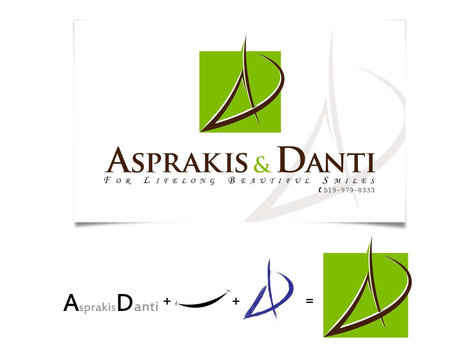 Logo Design by olii - Entry No. 146 in the Logo Design Contest Unique Logo Design Wanted for Asprakis and Danti.