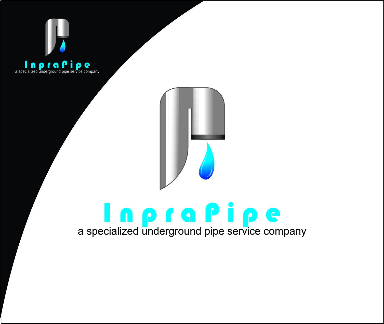 Logo Design by Agus Martoyo - Entry No. 46 in the Logo Design Contest Inspiring Logo Design for Infrapipe.