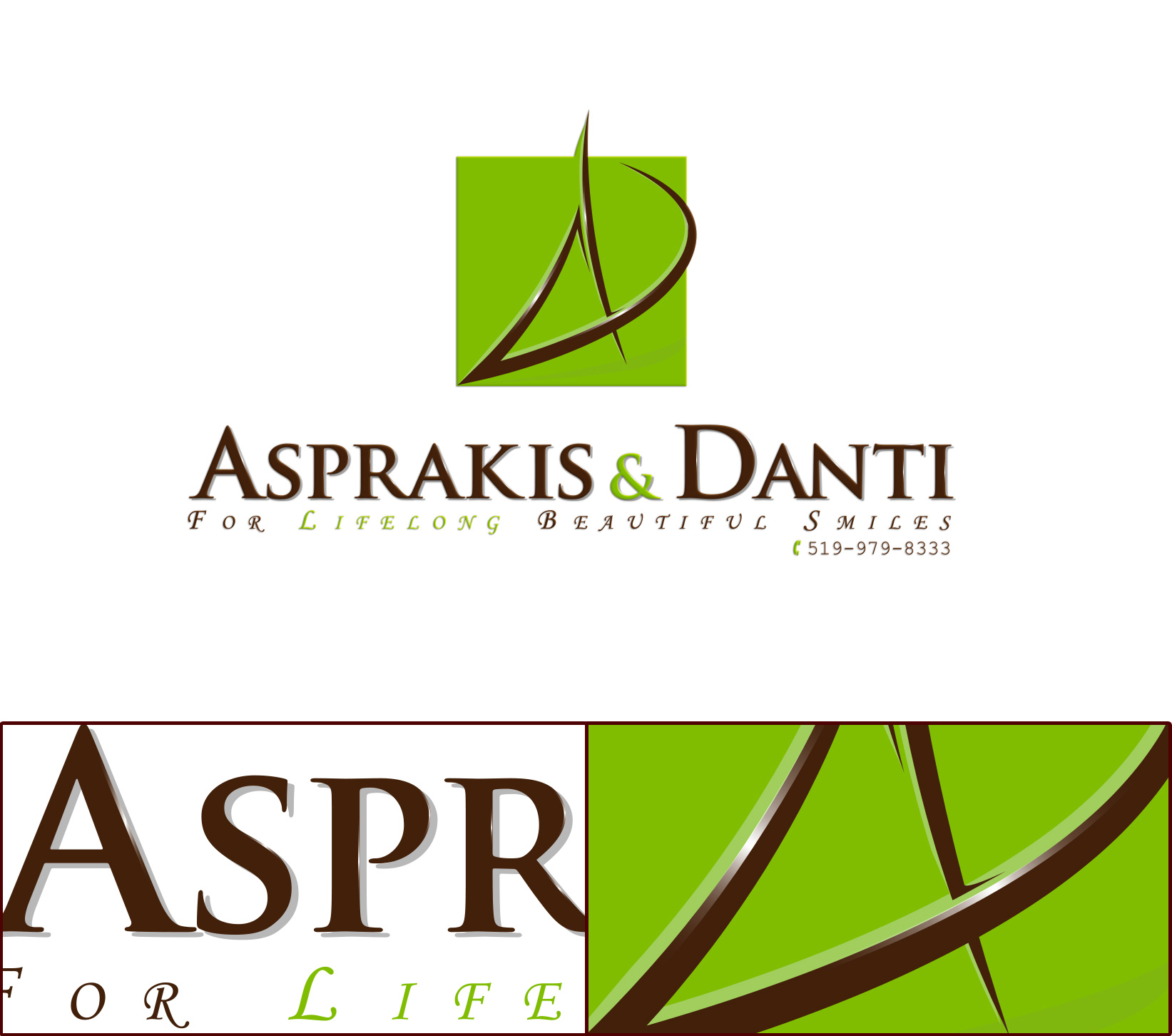 Logo Design by olii - Entry No. 167 in the Logo Design Contest Unique Logo Design Wanted for Asprakis and Danti.