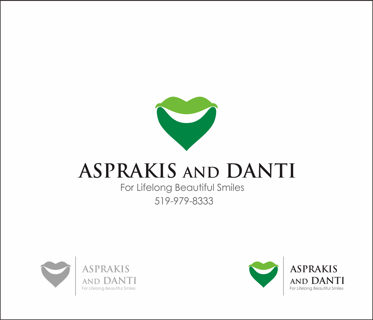 Logo Design by Armada Jamaluddin - Entry No. 172 in the Logo Design Contest Unique Logo Design Wanted for Asprakis and Danti.