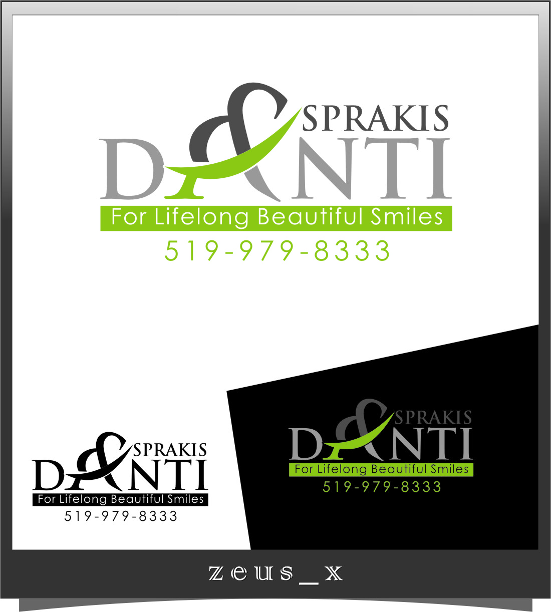 Logo Design by Ngepet_art - Entry No. 181 in the Logo Design Contest Unique Logo Design Wanted for Asprakis and Danti.