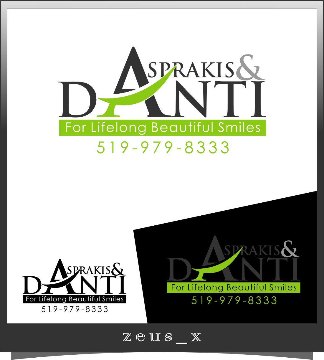 Logo Design by RoSyid Rono-Rene On Java - Entry No. 182 in the Logo Design Contest Unique Logo Design Wanted for Asprakis and Danti.