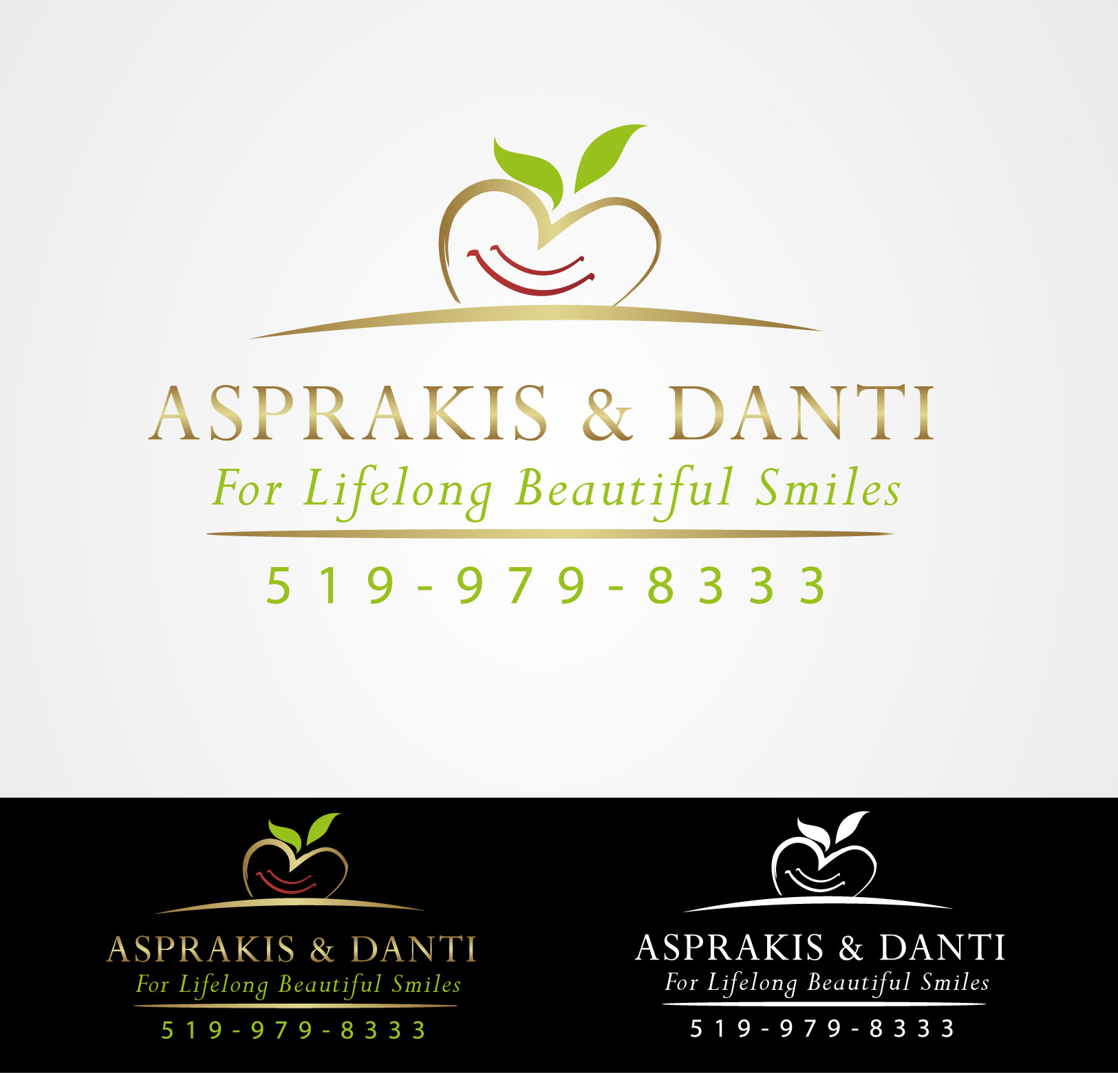 Logo Design by Darina Dimitrova - Entry No. 192 in the Logo Design Contest Unique Logo Design Wanted for Asprakis and Danti.