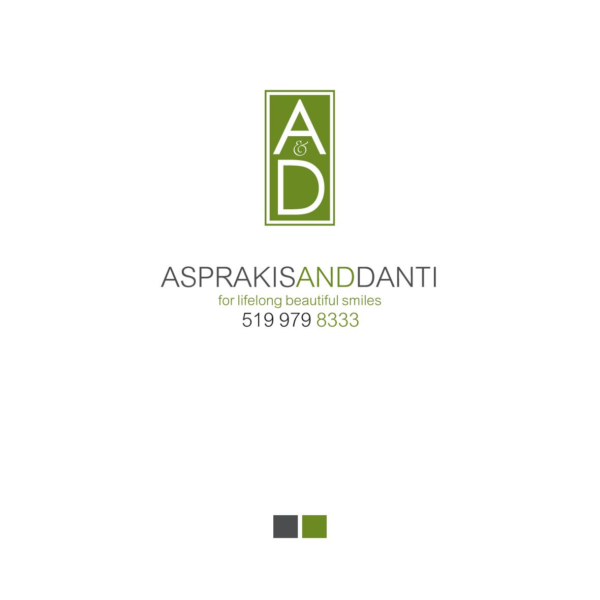 Logo Design by Alexandros Konstantinou - Entry No. 198 in the Logo Design Contest Unique Logo Design Wanted for Asprakis and Danti.