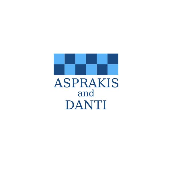 Logo Design by JaroslavProcka - Entry No. 201 in the Logo Design Contest Unique Logo Design Wanted for Asprakis and Danti.