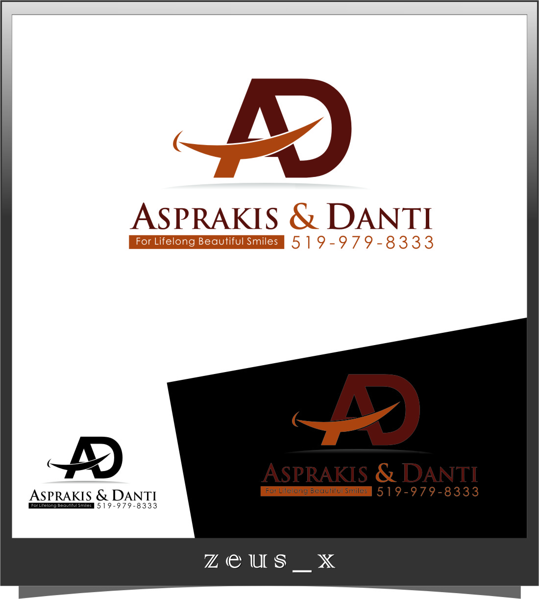Logo Design by Ngepet_art - Entry No. 202 in the Logo Design Contest Unique Logo Design Wanted for Asprakis and Danti.