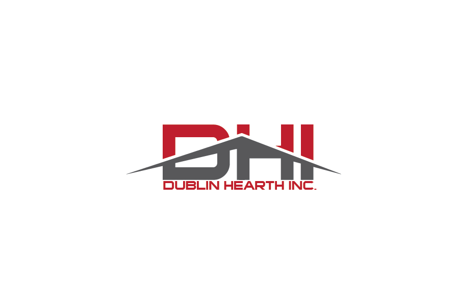 Logo Design by Private User - Entry No. 2 in the Logo Design Contest clean professional  Logo Design for Dublin Hearth Inc. with a splash of fun with letter head.