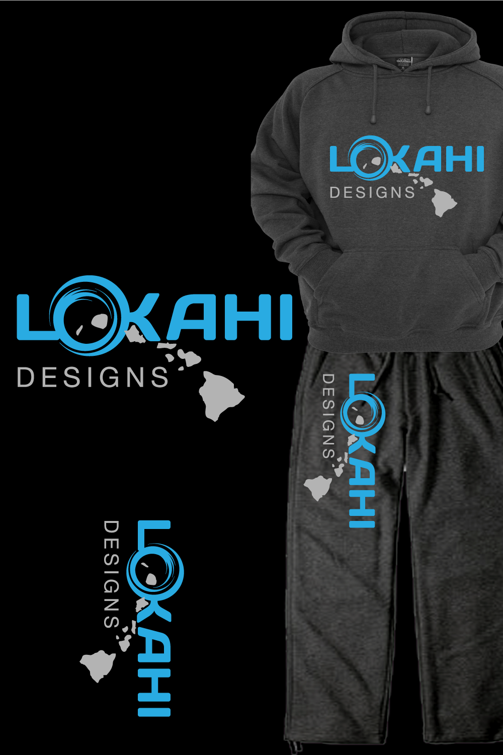 Logo Design by rockin - Entry No. 30 in the Logo Design Contest  Epic Logo Design for LOKAHI designs.