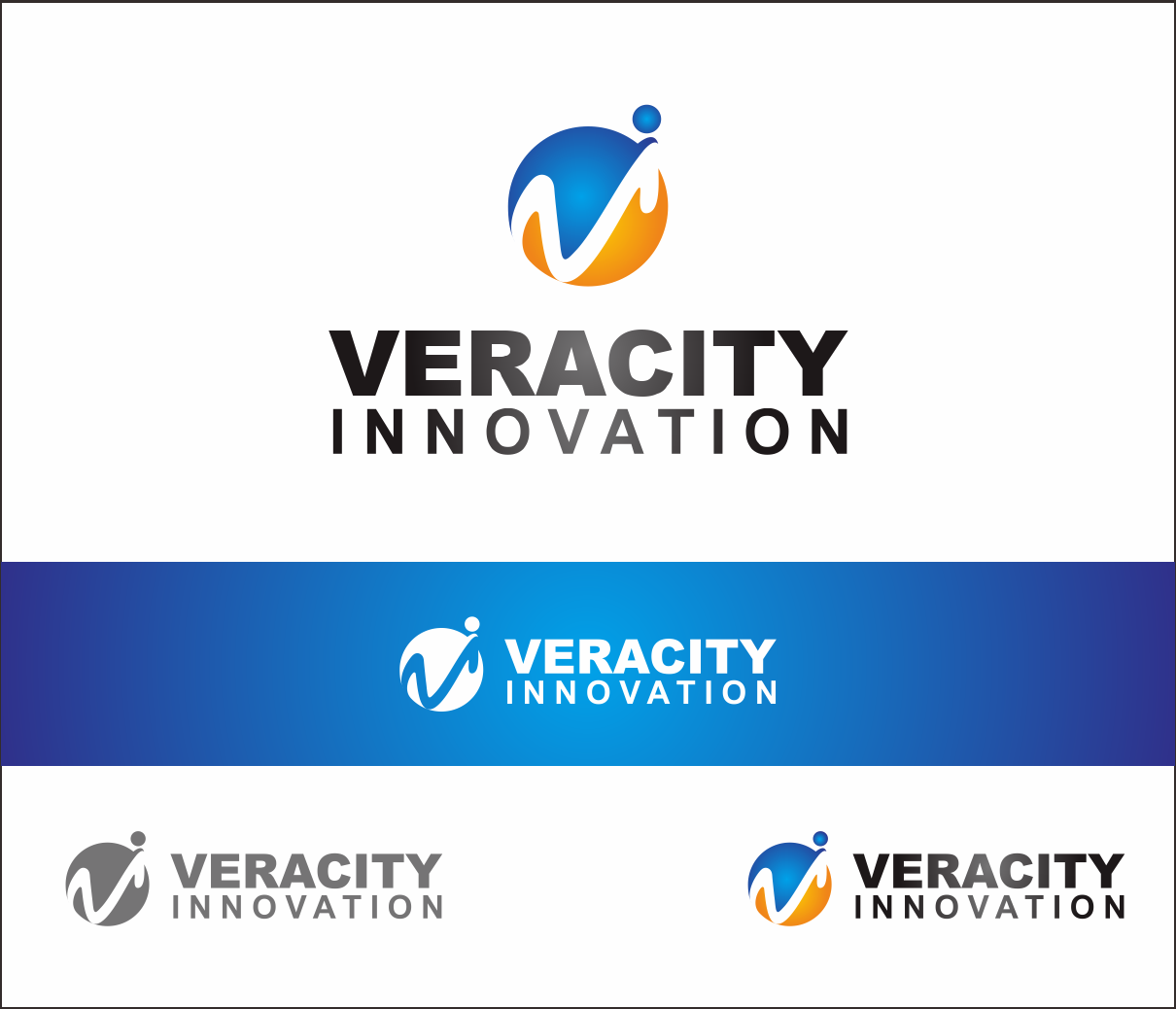 Logo Design by Armada Jamaluddin - Entry No. 167 in the Logo Design Contest Creative Logo Design for Veracity Innovation, LLC.