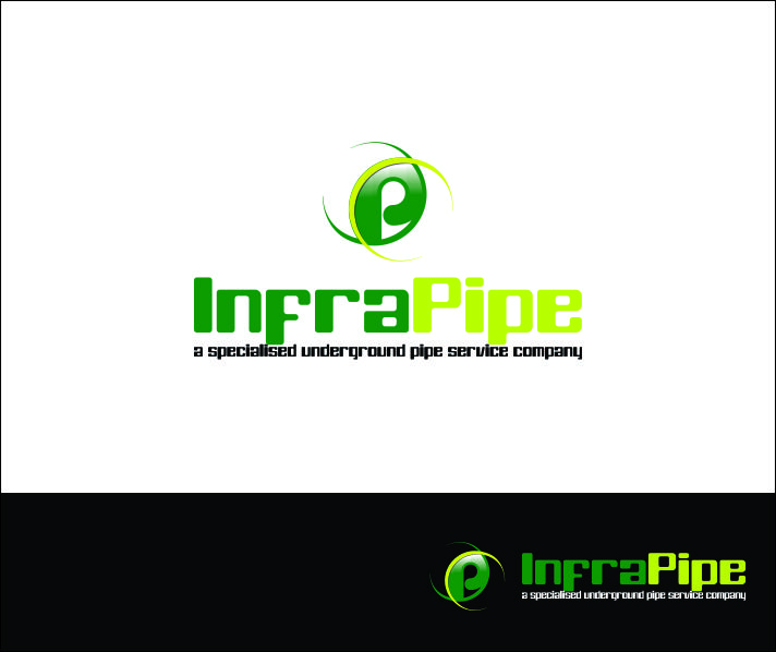 Logo Design by Agus Martoyo - Entry No. 110 in the Logo Design Contest Inspiring Logo Design for Infrapipe.
