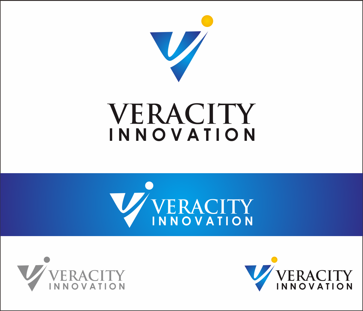 Logo Design by Armada Jamaluddin - Entry No. 168 in the Logo Design Contest Creative Logo Design for Veracity Innovation, LLC.