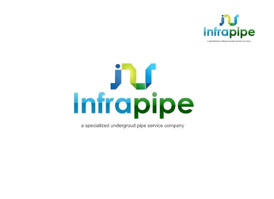Logo Design by Tathastu Sharma - Entry No. 130 in the Logo Design Contest Inspiring Logo Design for Infrapipe.
