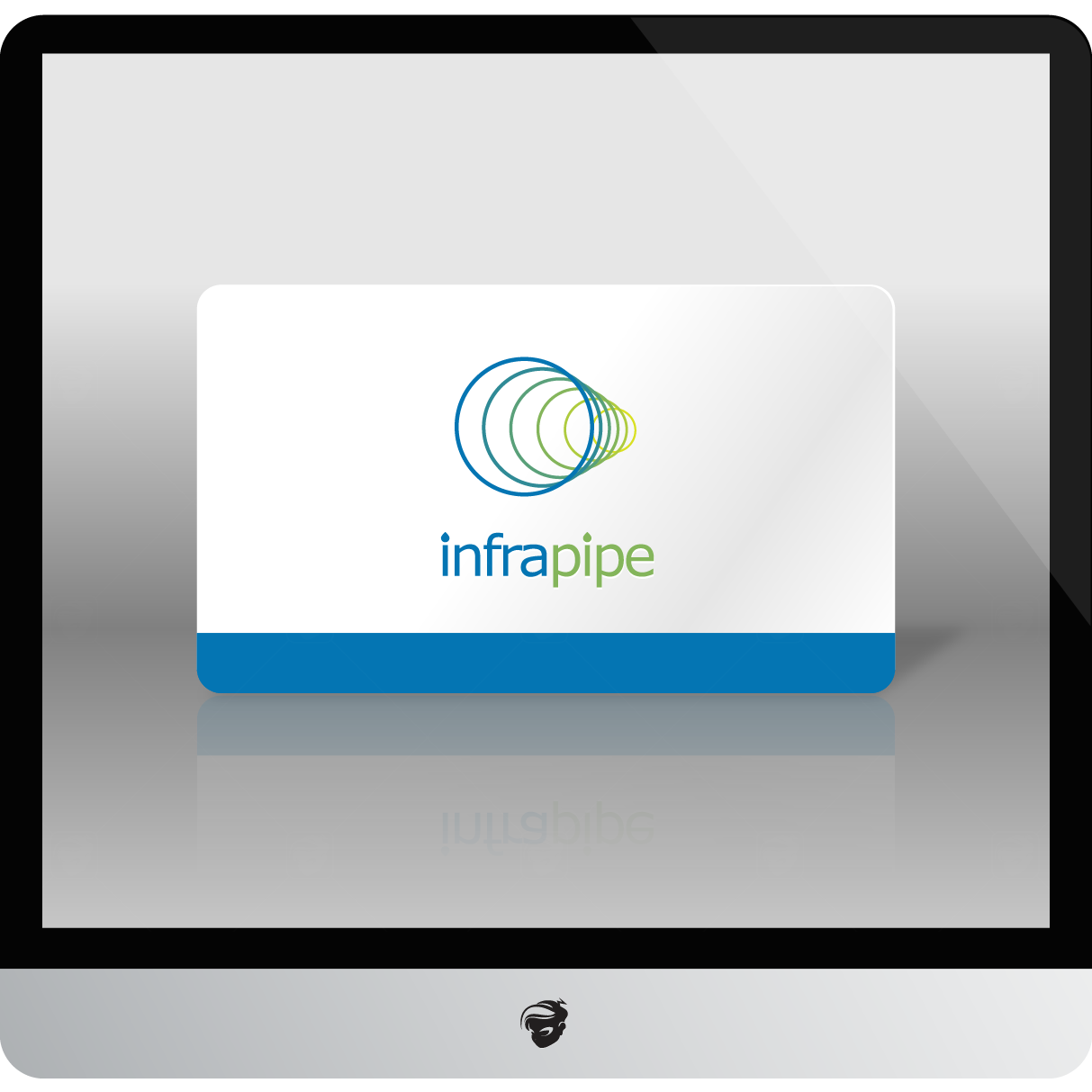 Logo Design by zesthar - Entry No. 165 in the Logo Design Contest Inspiring Logo Design for Infrapipe.