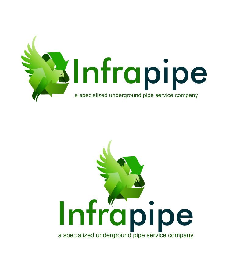 Logo Design by Private User - Entry No. 168 in the Logo Design Contest Inspiring Logo Design for Infrapipe.