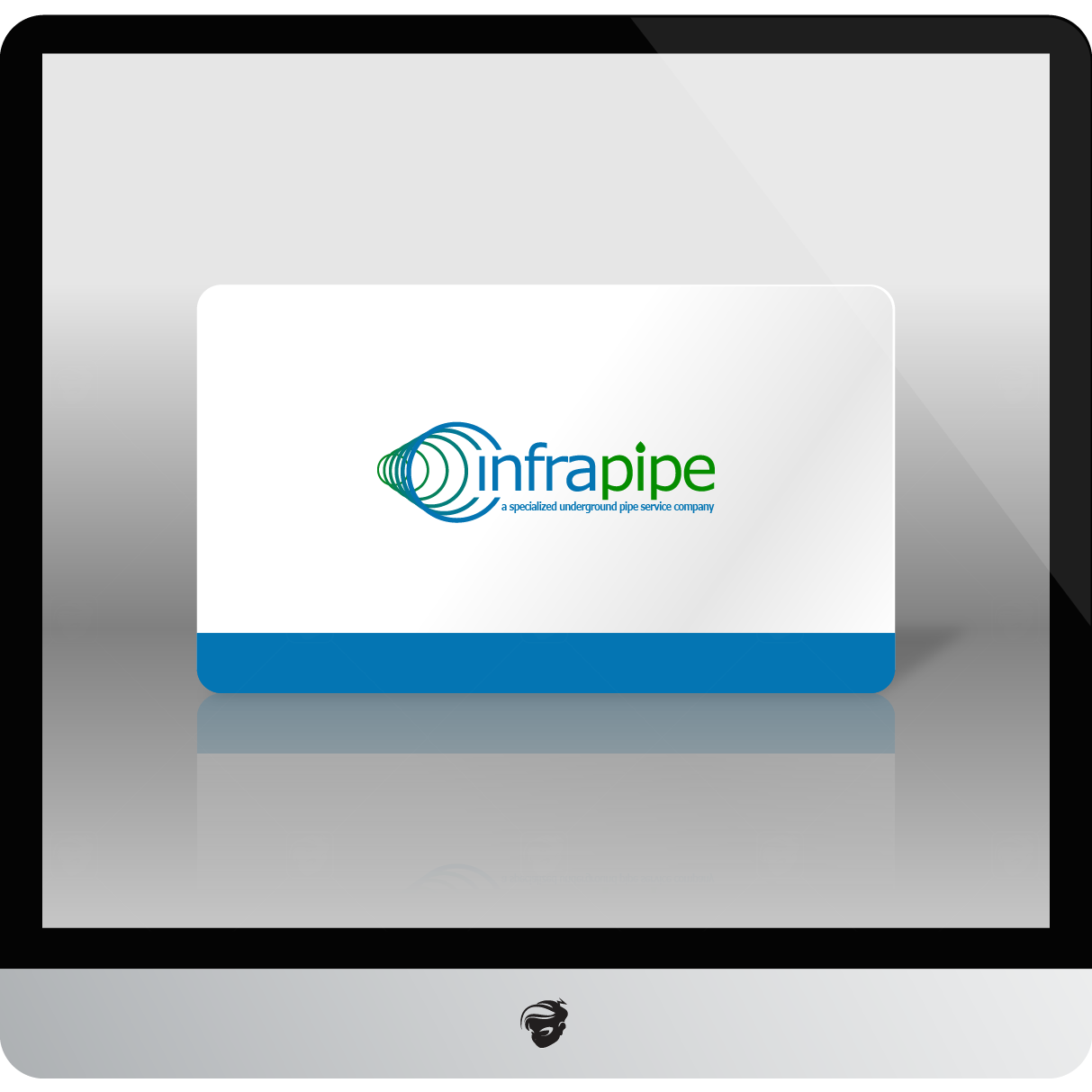 Logo Design by zesthar - Entry No. 173 in the Logo Design Contest Inspiring Logo Design for Infrapipe.