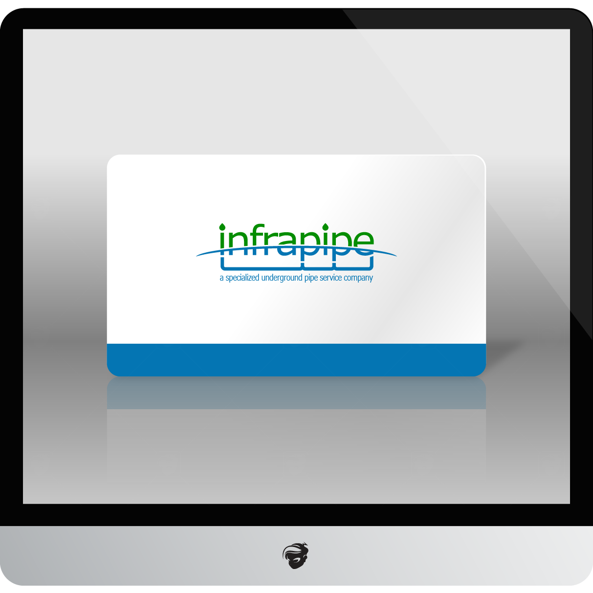 Logo Design by zesthar - Entry No. 174 in the Logo Design Contest Inspiring Logo Design for Infrapipe.