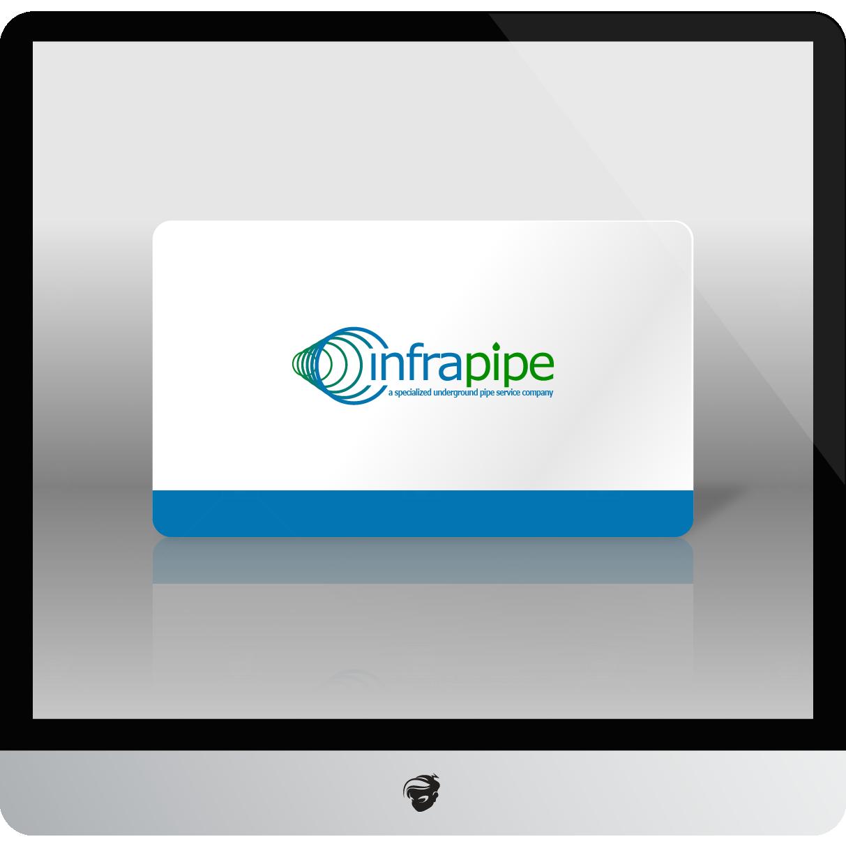 Logo Design by zesthar - Entry No. 175 in the Logo Design Contest Inspiring Logo Design for Infrapipe.