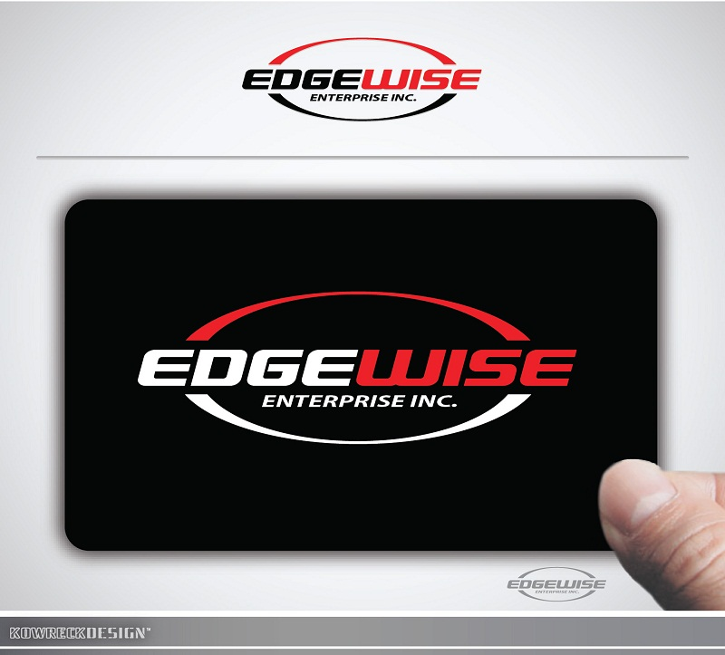 Logo Design by kowreck - Entry No. 6 in the Logo Design Contest New Logo Design for Edgewise Enterprises Inc..
