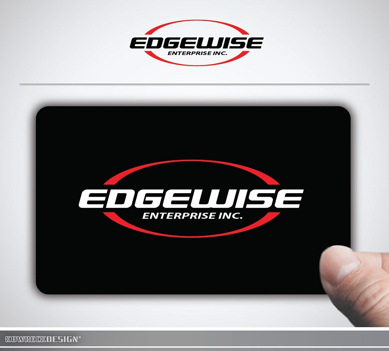 Logo Design by kowreck - Entry No. 7 in the Logo Design Contest New Logo Design for Edgewise Enterprises Inc..