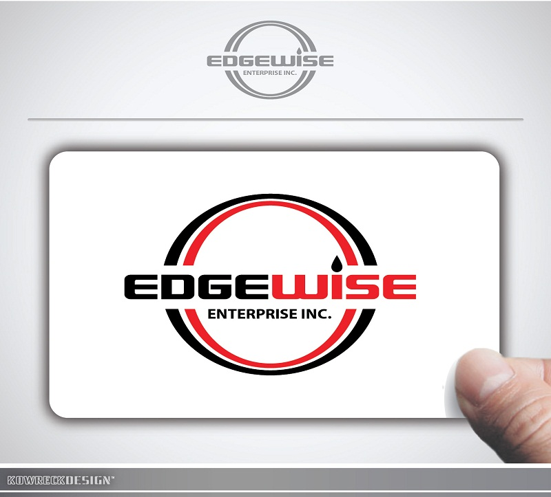Logo Design by kowreck - Entry No. 8 in the Logo Design Contest New Logo Design for Edgewise Enterprises Inc..