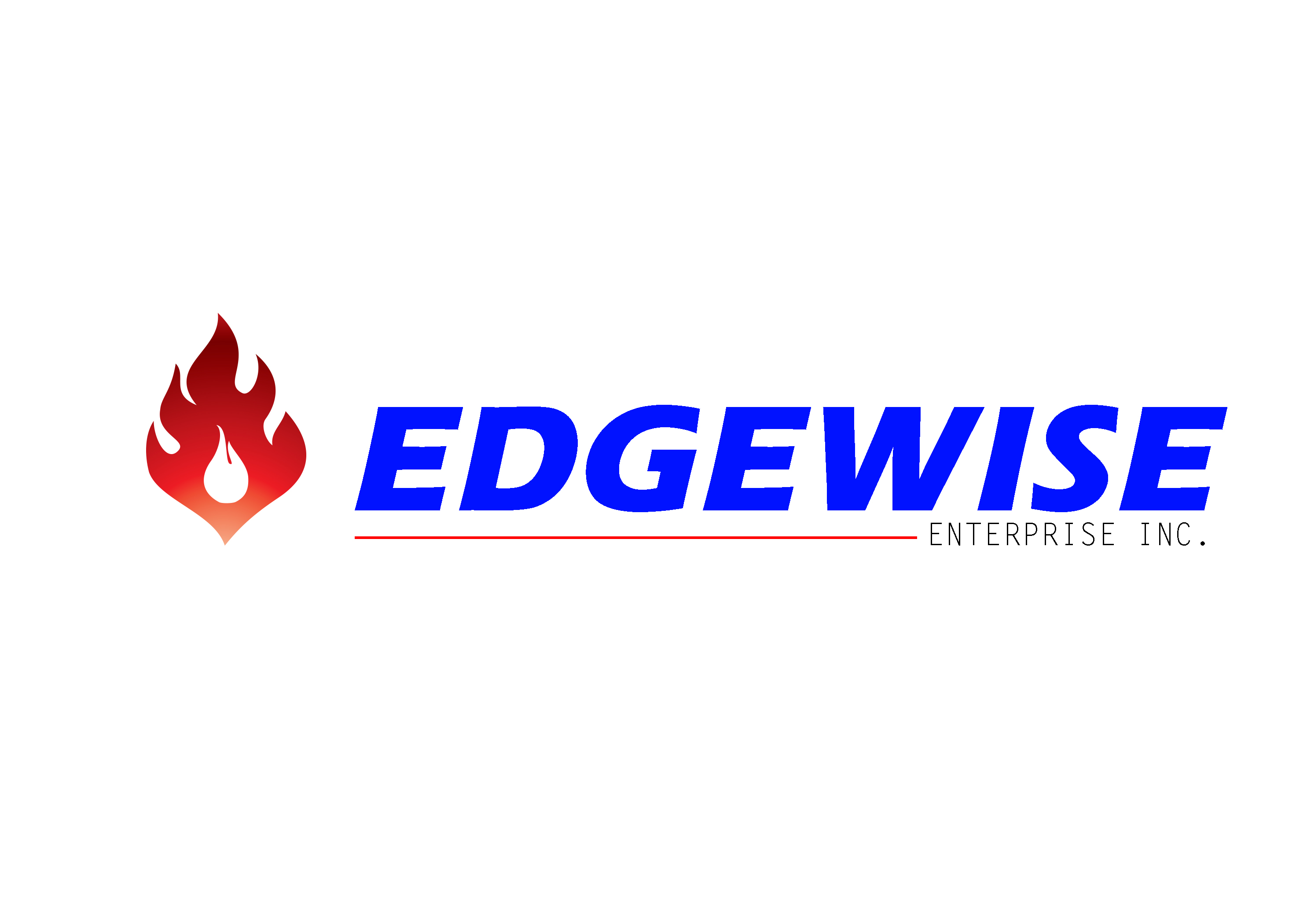 Logo Design by Oday Adel - Entry No. 10 in the Logo Design Contest New Logo Design for Edgewise Enterprises Inc..