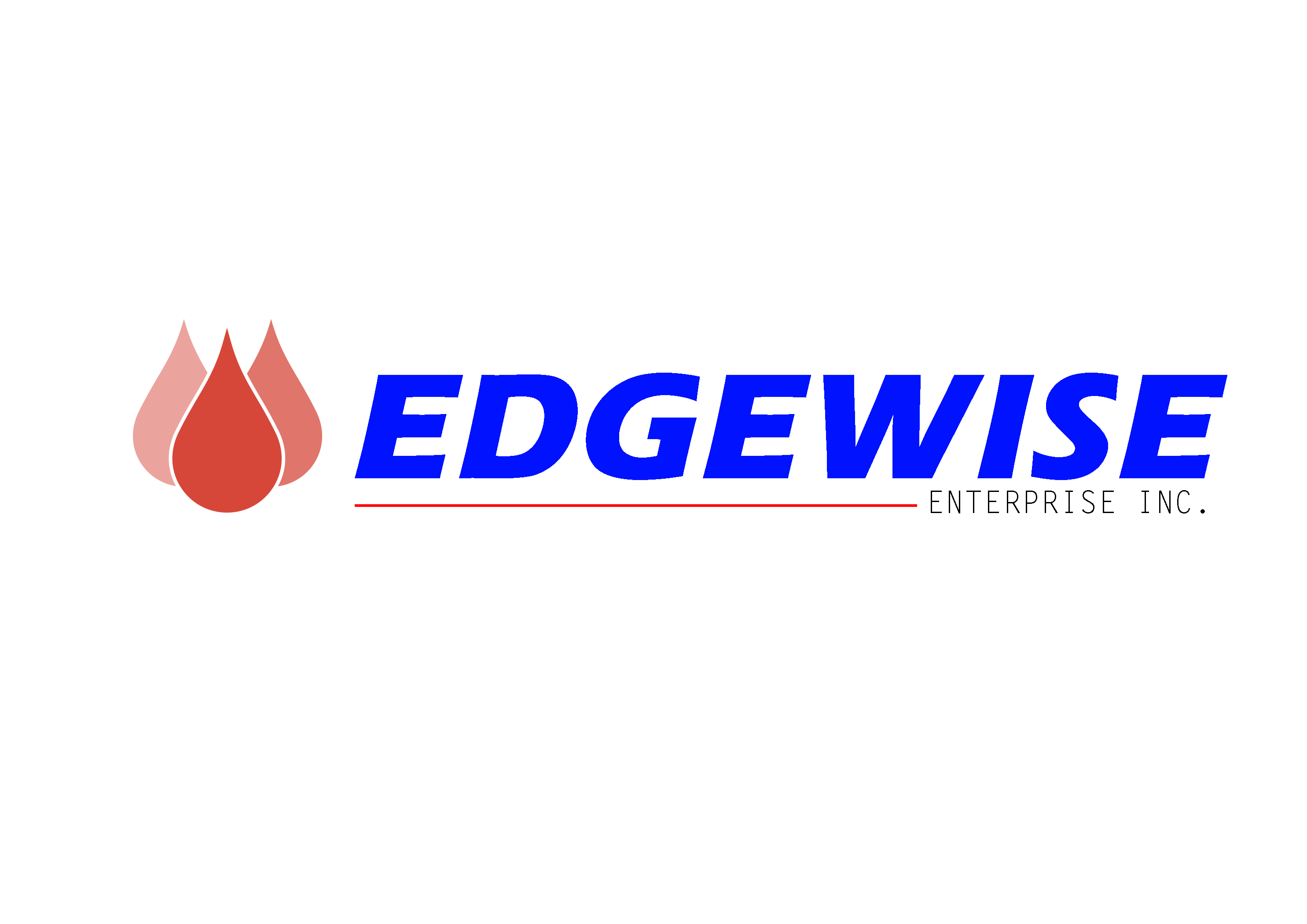 Logo Design by Oday Adel - Entry No. 11 in the Logo Design Contest New Logo Design for Edgewise Enterprises Inc..