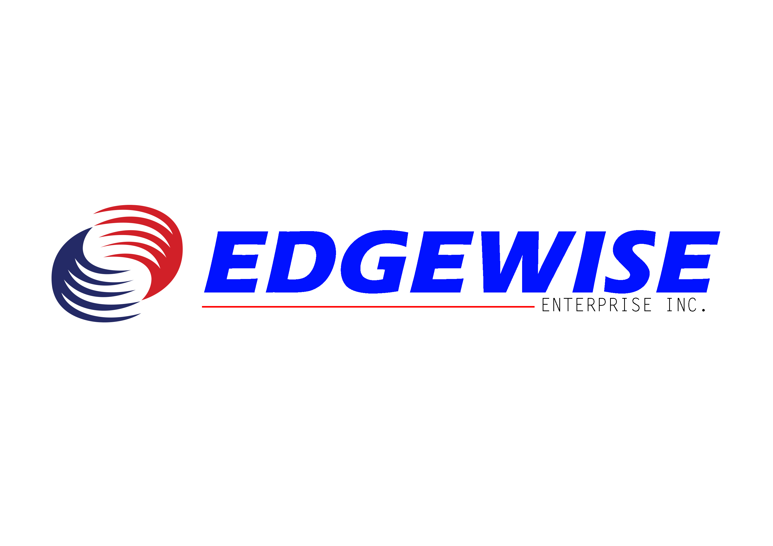 Logo Design by Oday Adel - Entry No. 12 in the Logo Design Contest New Logo Design for Edgewise Enterprises Inc..