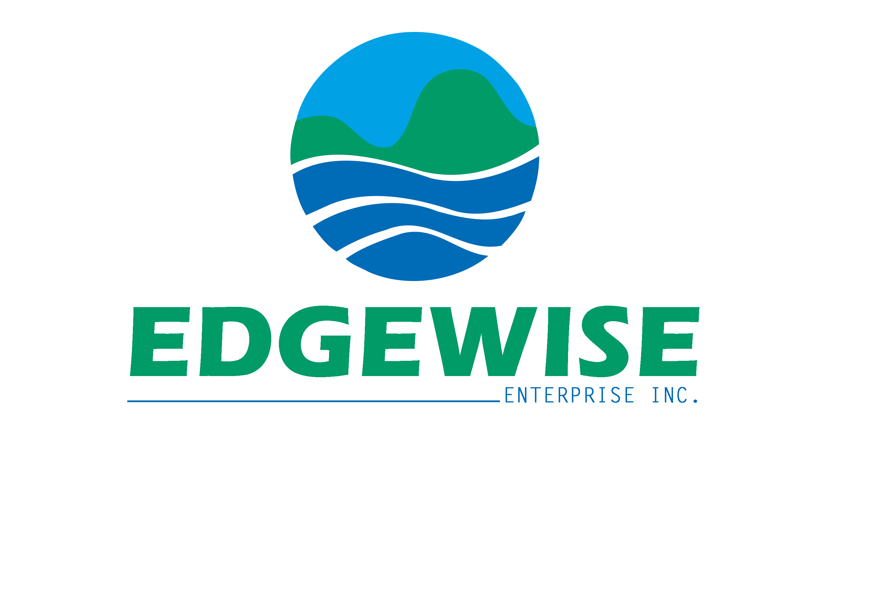Logo Design by Oday Adel - Entry No. 14 in the Logo Design Contest New Logo Design for Edgewise Enterprises Inc..