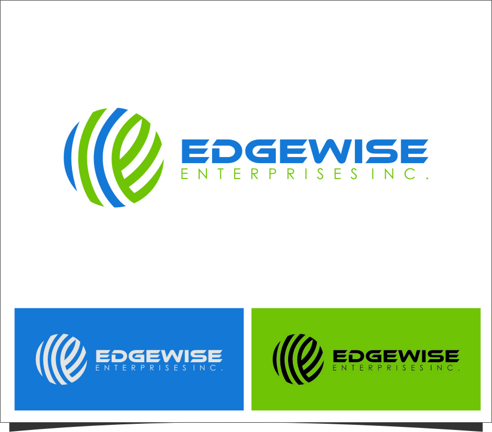Logo Design by RoSyid Rono-Rene On Java - Entry No. 15 in the Logo Design Contest New Logo Design for Edgewise Enterprises Inc..